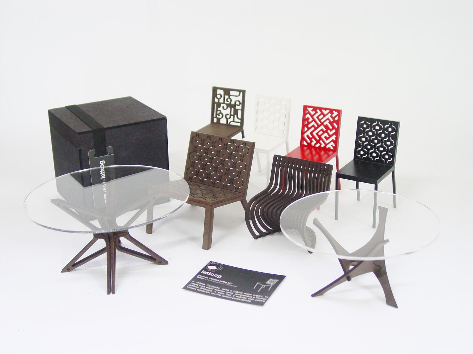 Lattoog lança as primeiras miniaturas  de móveis com design nacional