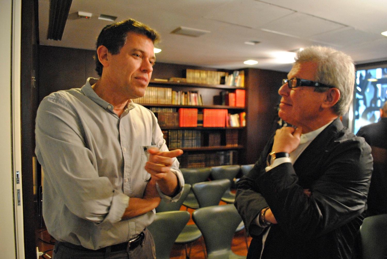 Arquitetos vão à palestra de Daniel Libeskind no Rio