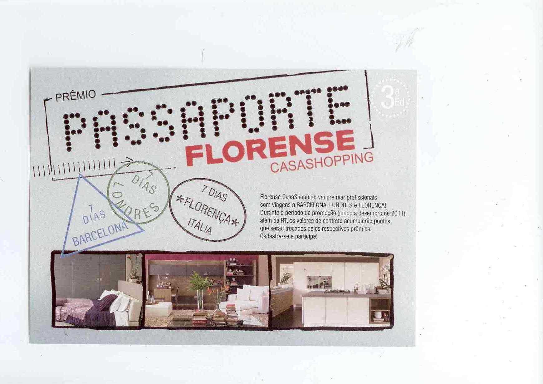 Ganhadores do Passaporte Florense