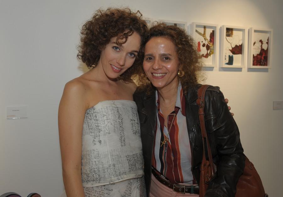 Mana Bernardes na Luciana Caravello Arte Contemporânea