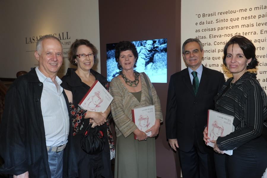 Abertura de exposição de obras de Lasar Segall