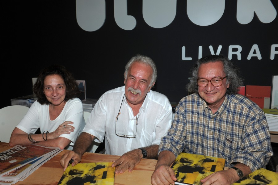 Lançamento do livro de Carlos Vergara na Art Rio
