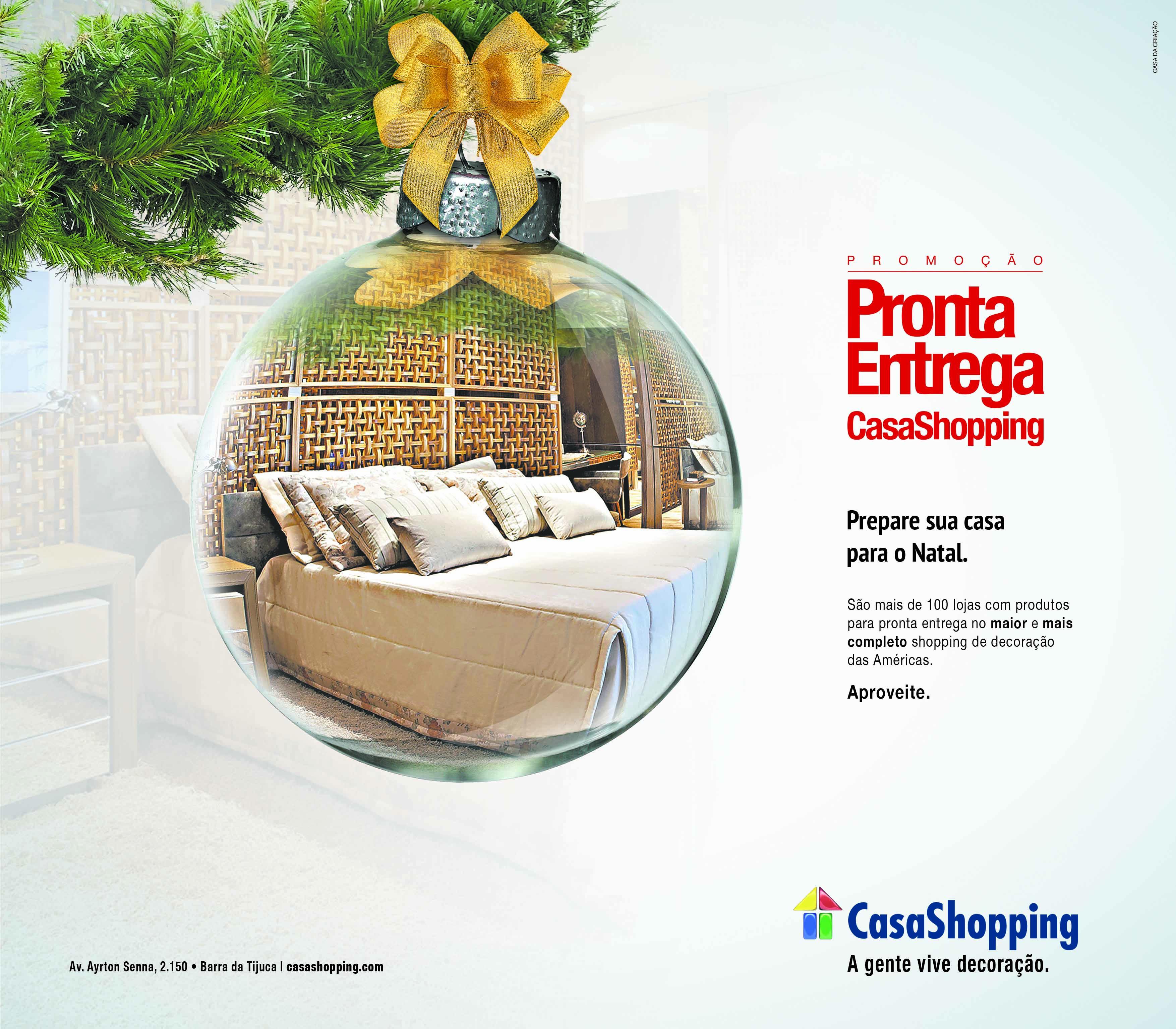 CasaShopping promove mês de Pronta Entrega