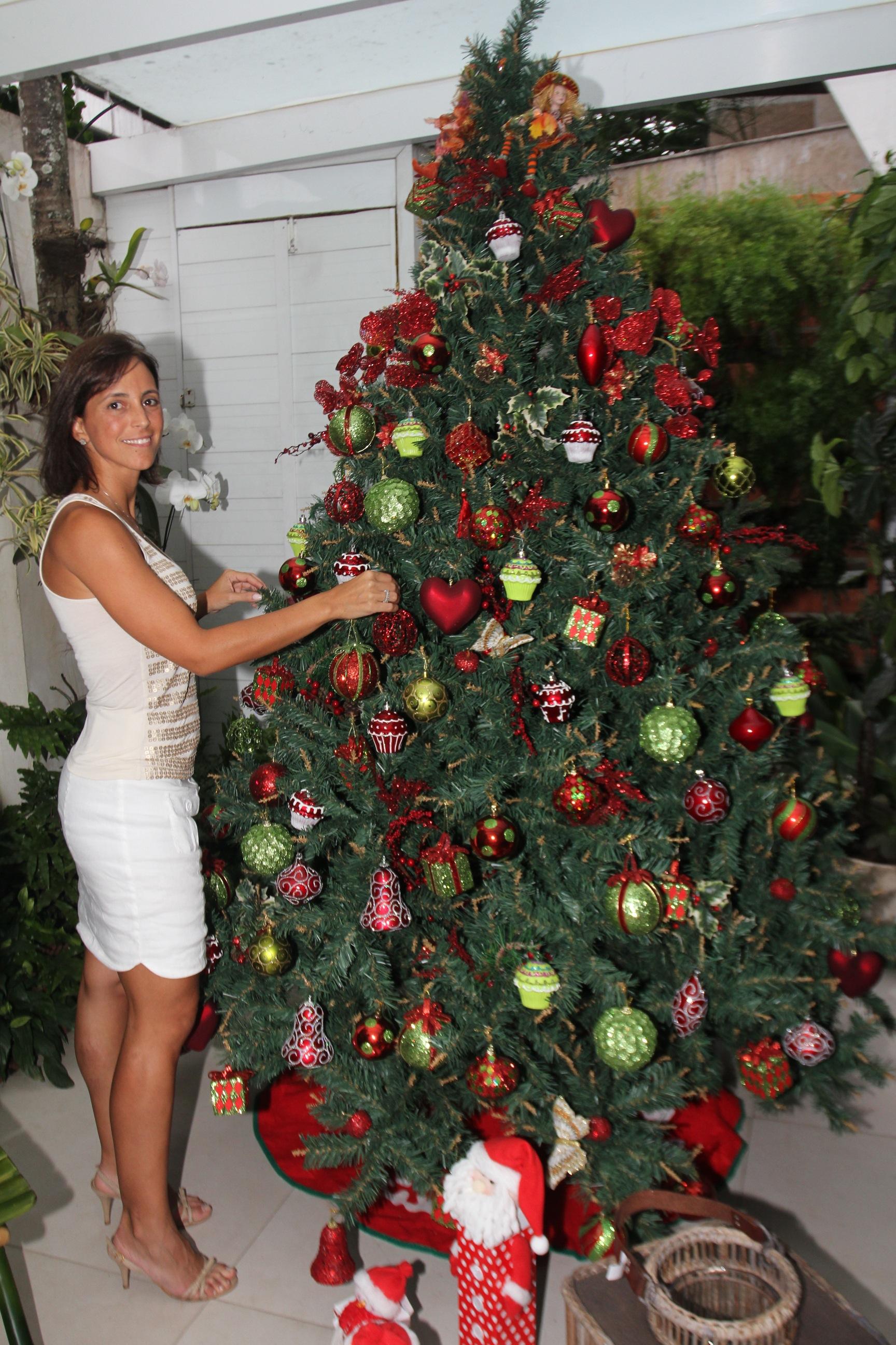 A criadora das árvores de Natal mais famosas da cidade
