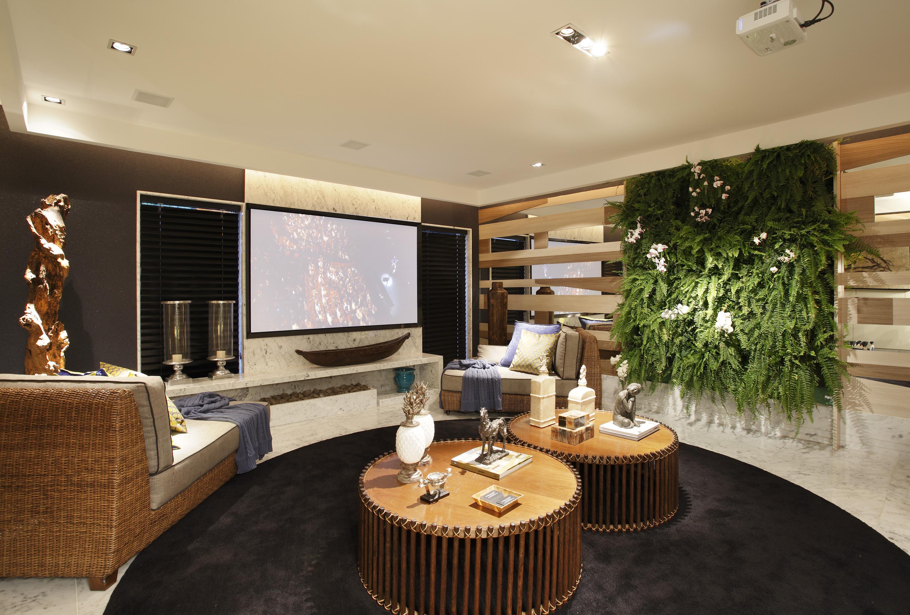 Ambiente da Fibras Arte na Casa Design 2012