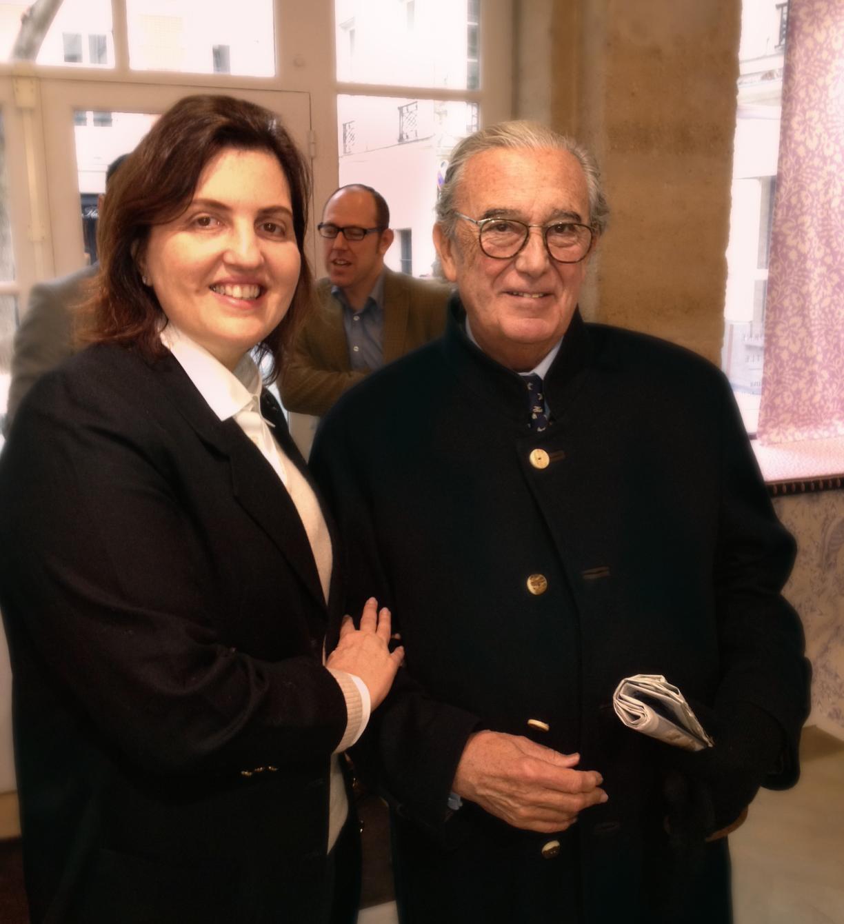 Simone Orlean visita fornecedores na Europa
