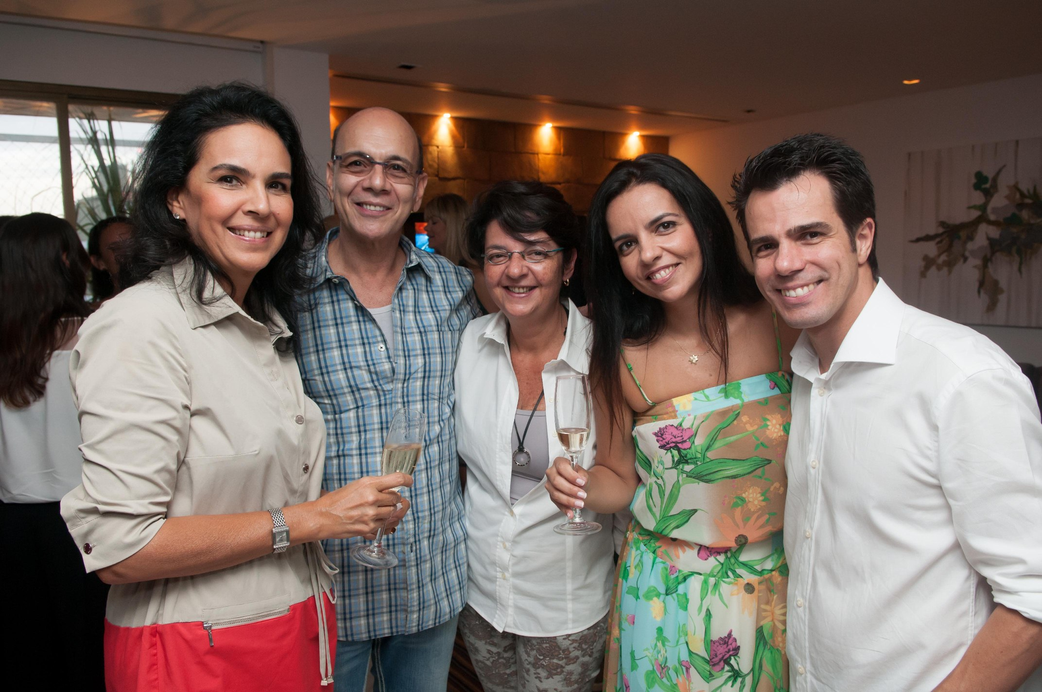 Happy Hour na cobertura de Luis Fernando Amorim