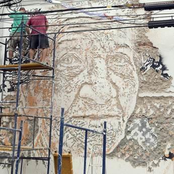 Jovem street artist português apresenta trabalhos inéditos na Clark Art Center