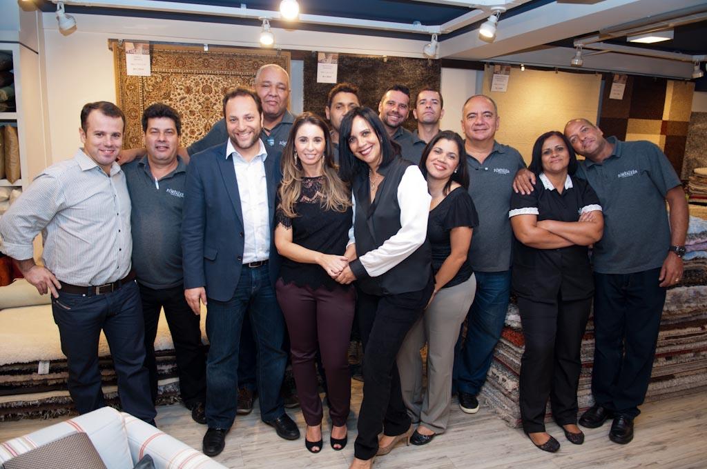 Inauguração de vitrine da Casa Fortaleza Home & office