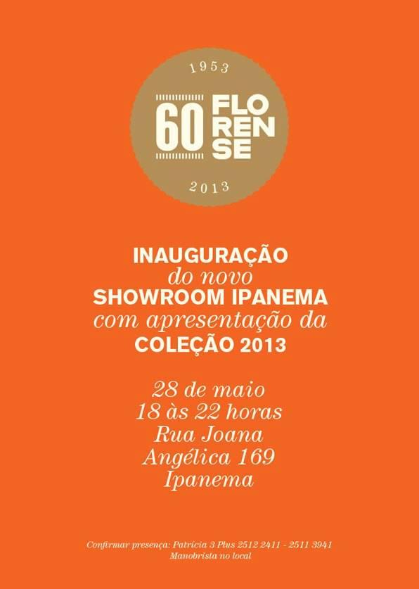 Florense Ipanema lança showroom e coleção