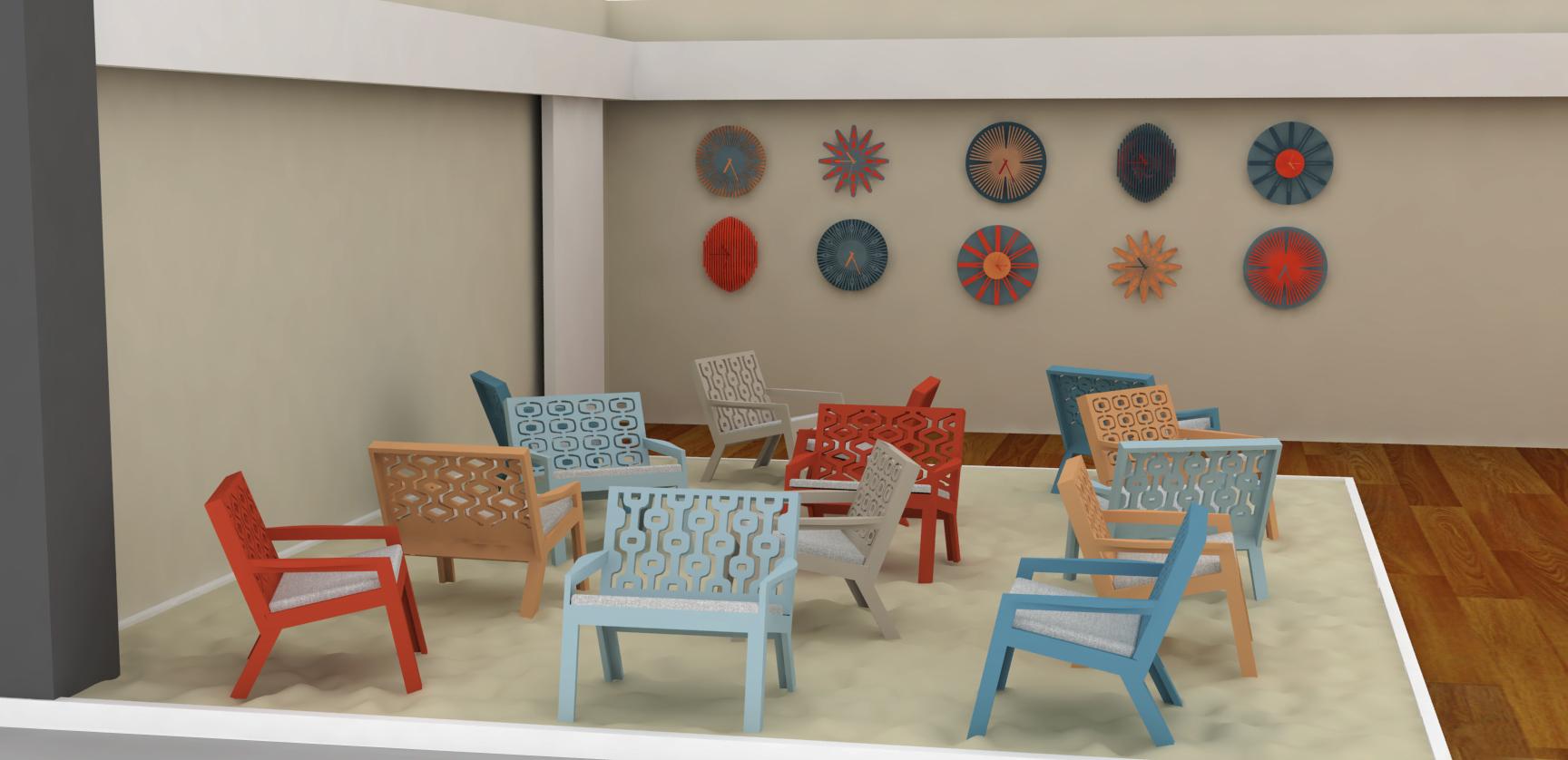 Way Cultural abre hoje com peças da Lattoog Design e curadoria de Sergio Zobaran