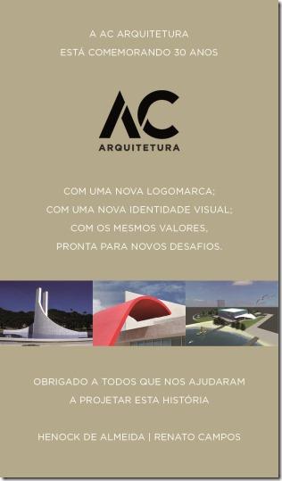 AC Arquitetura completa 30 anos