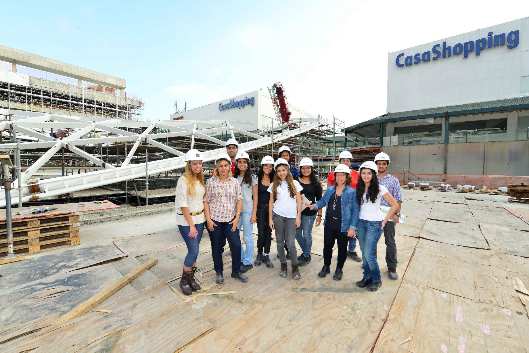 CasaShopping agenda visitas para a Onda Carioca