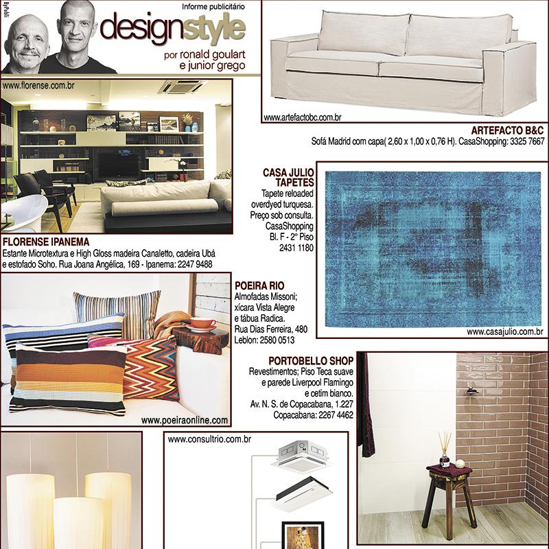 Publieditorial Design Style por Ronald Goulart e Junior Grego