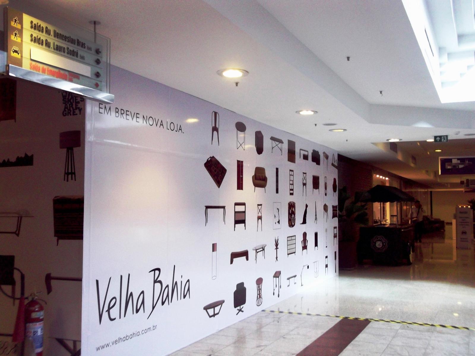 Nova loja da Velha Bahia