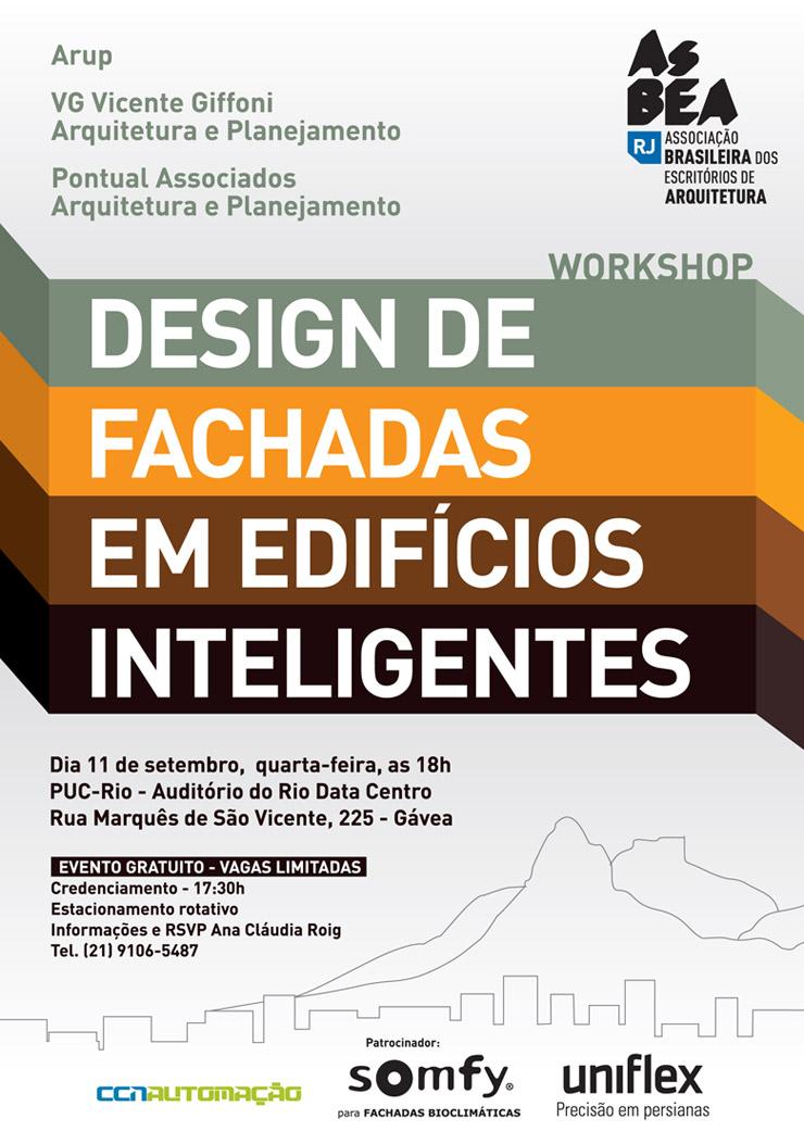 Palestra sobre design de fachadas em edifícios inteligentes