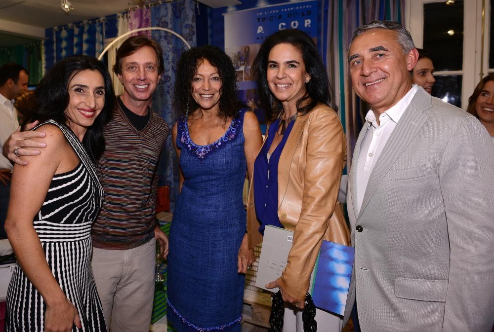 Tricia Guild no Rio para lançamento na Empório Beraldin