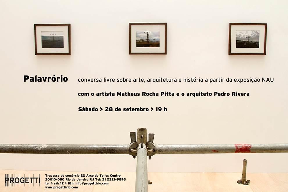 Pedro Rivera e Matheus Rocha Pitta no Palavrório