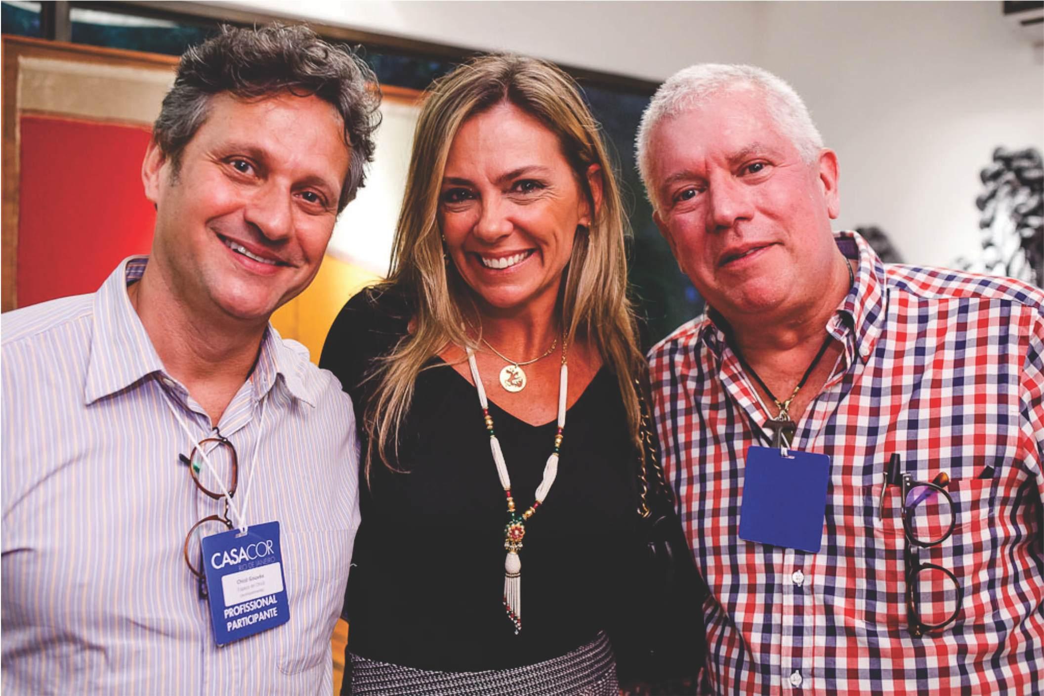 """""""Espaço do Chicô"""" e Todeschini recebem amigos da jornalista Anna Ramalho"""