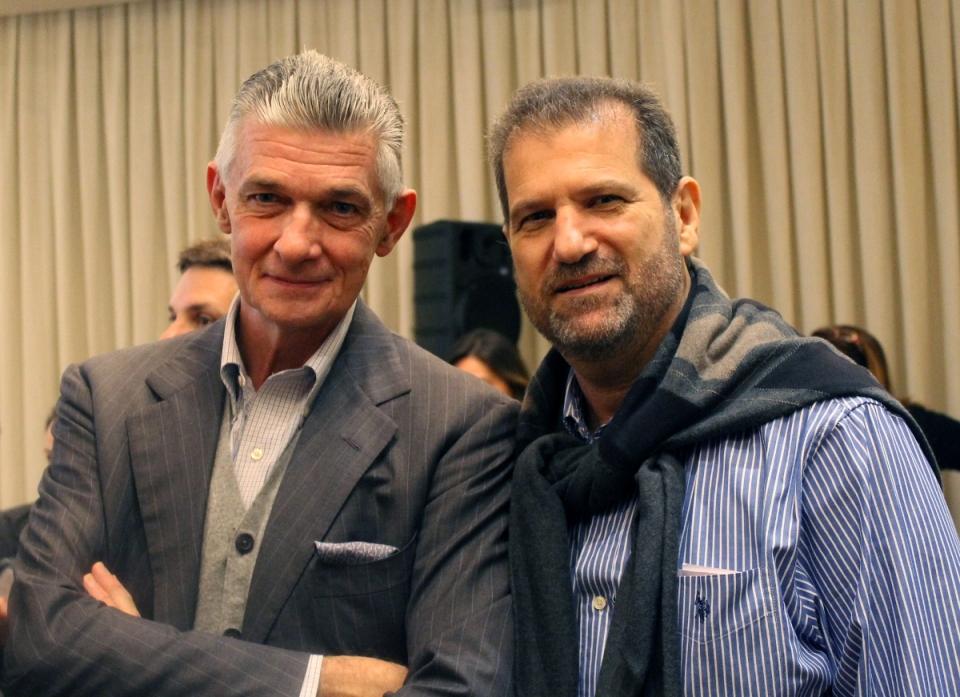 Orlean oferece brunch para Giulio Cappellini