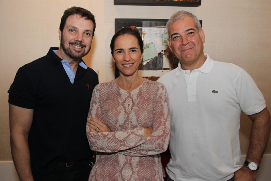 Gisele Taranto e Maurício Nóbrega recebem artistas plásticos no Casa Cor