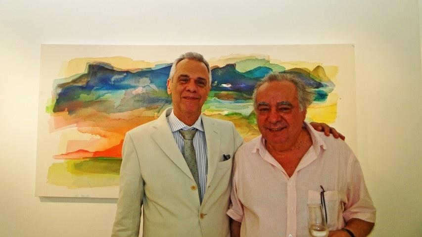 """""""Rio em janeiro"""", de Orlando Mollica, na H. Rocha Galeria"""