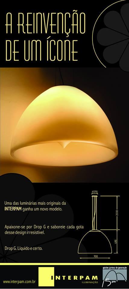 Nova luminária da Interpam