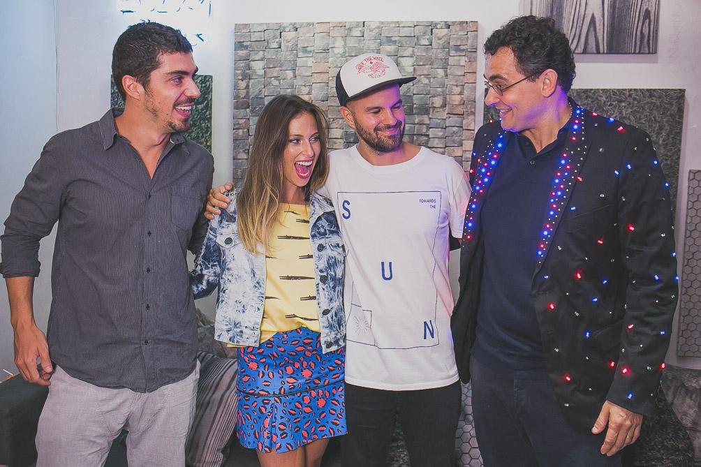 LZ Studio apresenta novas marcas em happy hour