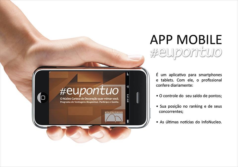APP Mobile #eupontuo