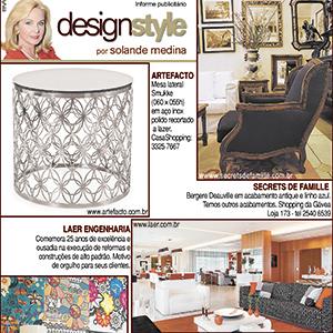 Publieditorial Design Style por Solange Medina