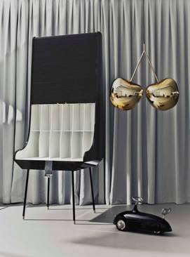 Peça da designer Nika Zupanc na La Lampe