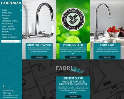 Fabrimar lança novo site com serviços para profissionais e consumidor final