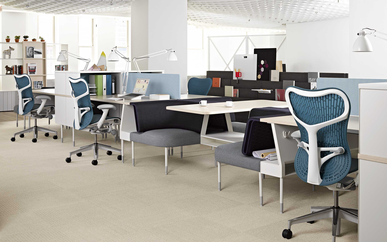 Novo Ambiente lança sistema corporativo da Herman Miller