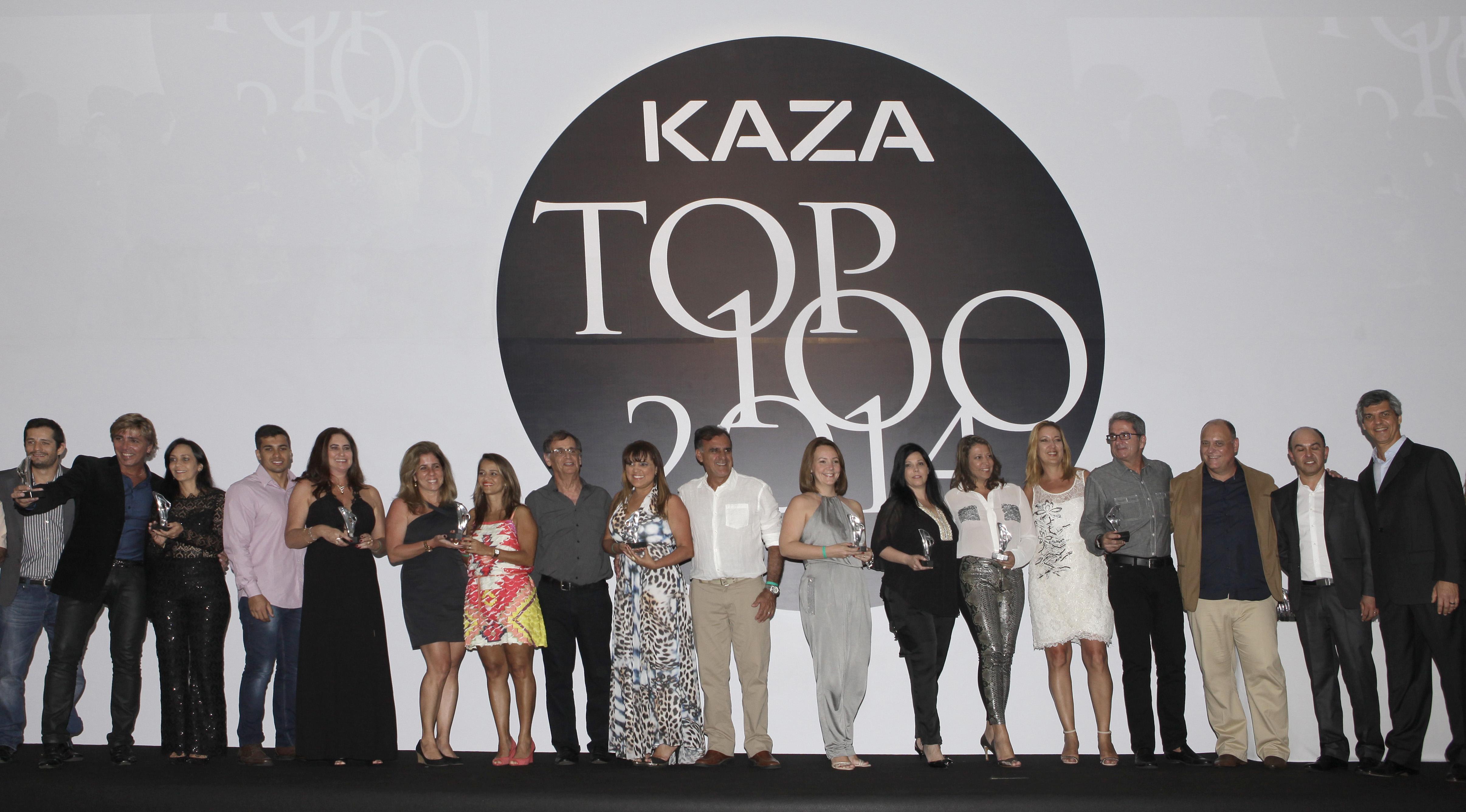 Profissionais do Cadn Niterói são premiados no TOP 100 da Revista Kaza