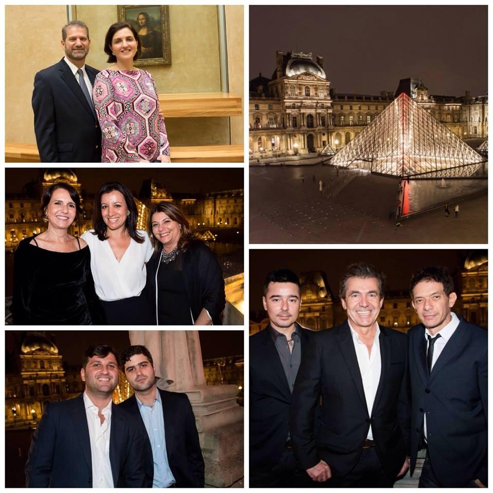 Orlean recebe convidados no Museu do Louvre