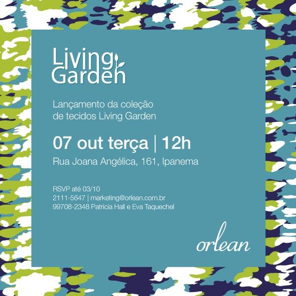 """Lançamento da coleção de tecidos """"Living Garden"""""""