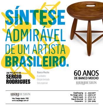 Projeto de Sergio Rodrigues