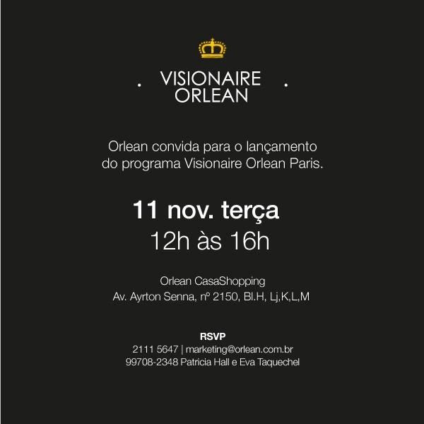 Lançamento do Visionaire Orlean Paris