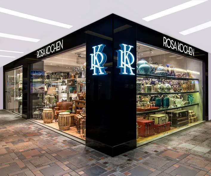 Rosa Kochen se muda para loja projetada por Ricardo Campos