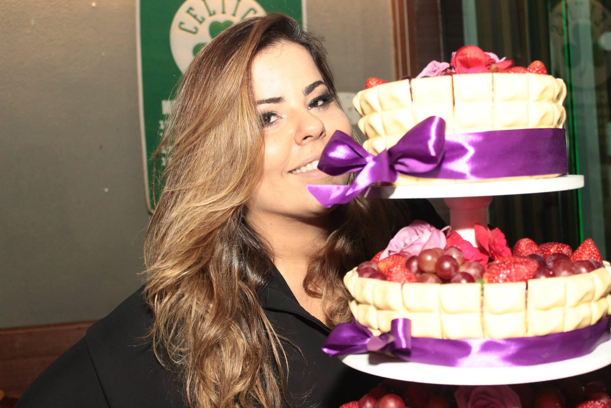 Maria Marina Meggiolaro comemora aniversário