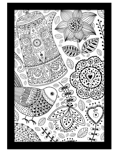 AmoMuito.com lança desenhos imprimíveis para colorir