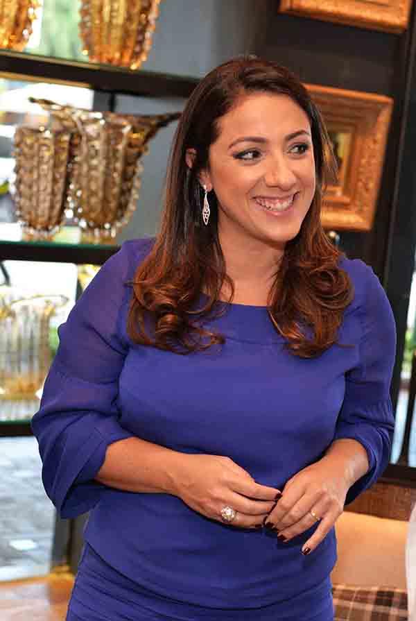 Monica Kochen recebeu arquitetos e decoradores na inauguração de sua nova loja no CasaShopping