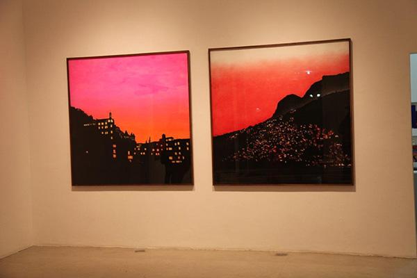 Coquetel de inauguração na Galeria Laura Marsiaj