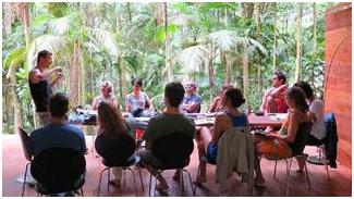 """Workshop sobre """"Biomimética como Estratégia em Inovação"""" em Paraty (RJ)"""