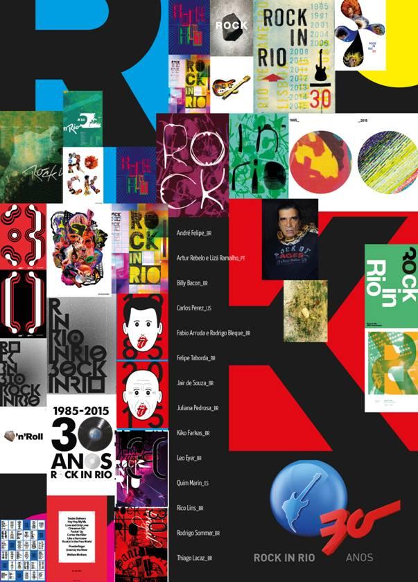 ArtRio homenageia os 30 anos de Rock In Rio com exposição