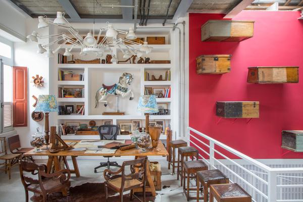 Casa Cor Rio – Estúdio do Restaurador de Raphael Costa Bastos