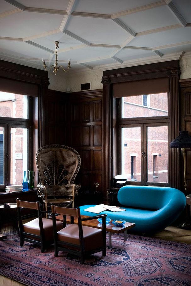 Décor do dia: móveis ousados na sala