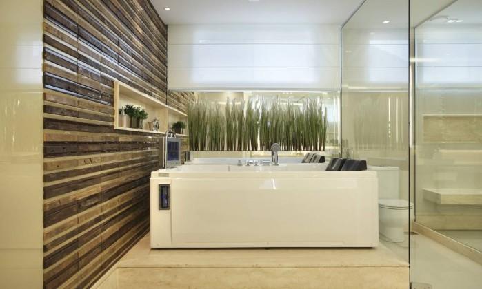 Banheiras voltam a ganhar espaço na decoração e viram as vedetes de projetos