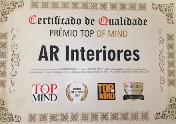AR Interiores recebe prêmio