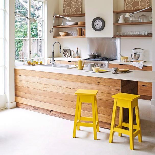 Décor do dia: claridade na cozinha